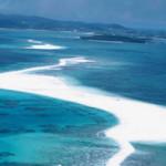 砂だけでできた島?沖縄の離島久米島の果てにある砂浜の島はての浜を紹介!