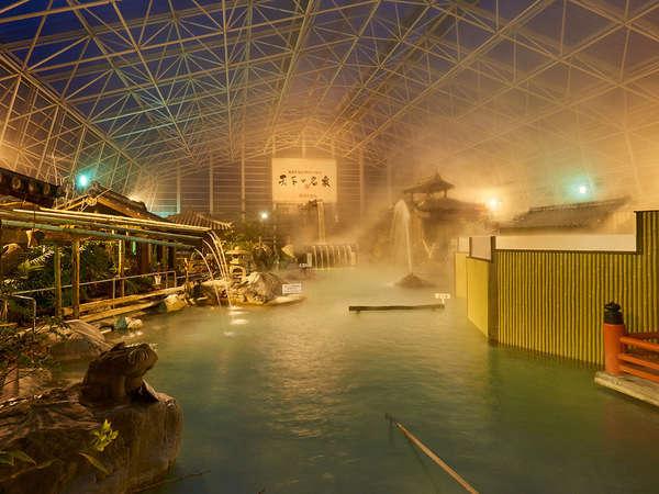 霧島ホテルの巨大天然温泉